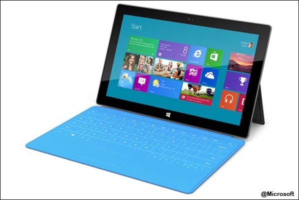 Microsoft's new tablet 'Surface': In pics
