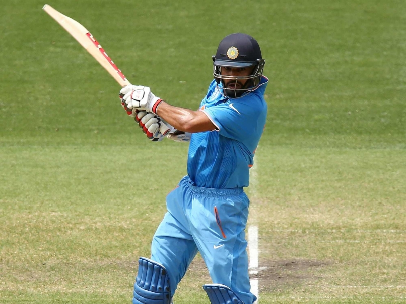 Dhawan against pakistan in World cup 2015